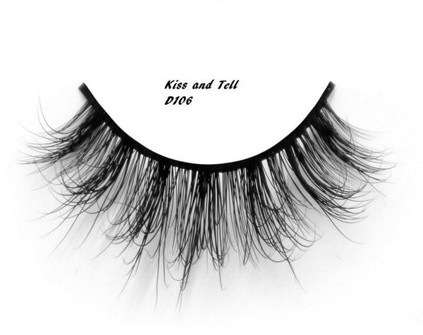 Kiss and Tell 3D Mink Lashes - IamKiyomi