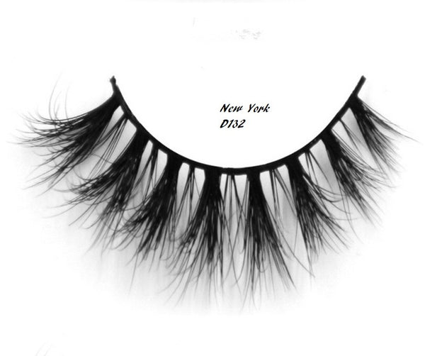 New York 3D Mink Lashes - IamKiyomi