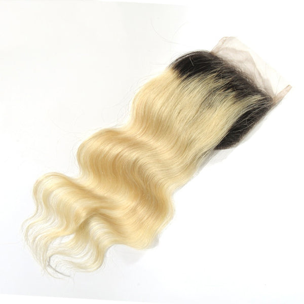 1B/613 Luxury Mink Body Wave Lace Closure