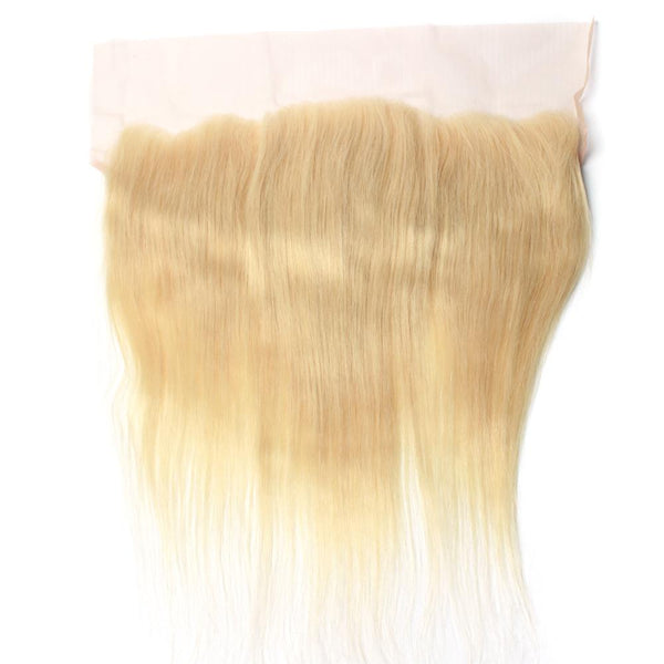 Luxury  613 Blonde Straight Lace Frontal - IamKiyomi