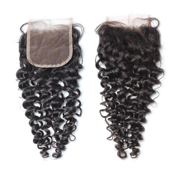 Brazilian Luxury  Mink Deep Curly Lace Closure - IamKiyomi
