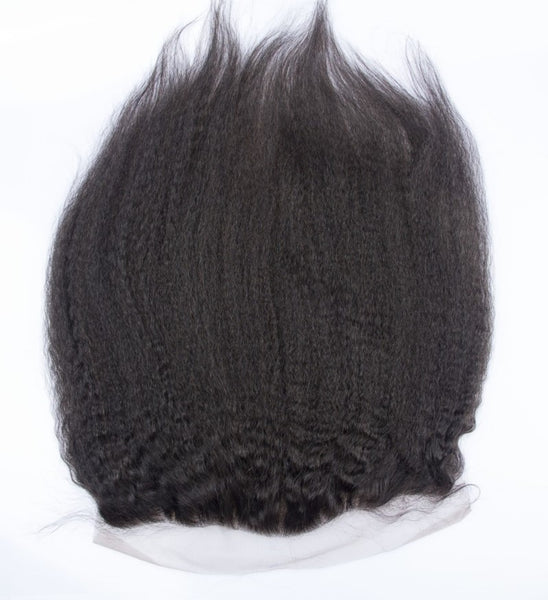 13x6 Luxury  Mink Kinky straight Lace Frontal - IamKiyomi