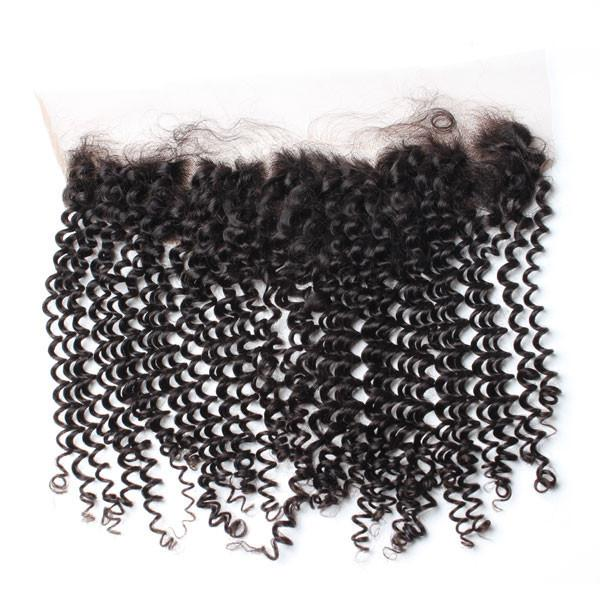 Brazilian Luxury  Mink Kinky Curly Lace Frontal - IamKiyomi