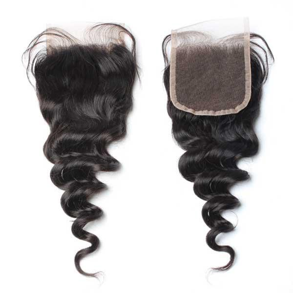 Brazilian Luxury  Mink Loose Wave Lace Closure - IamKiyomi