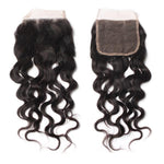 Brazilian Luxury  Mink Natural Wave Lace Closure - IamKiyomi