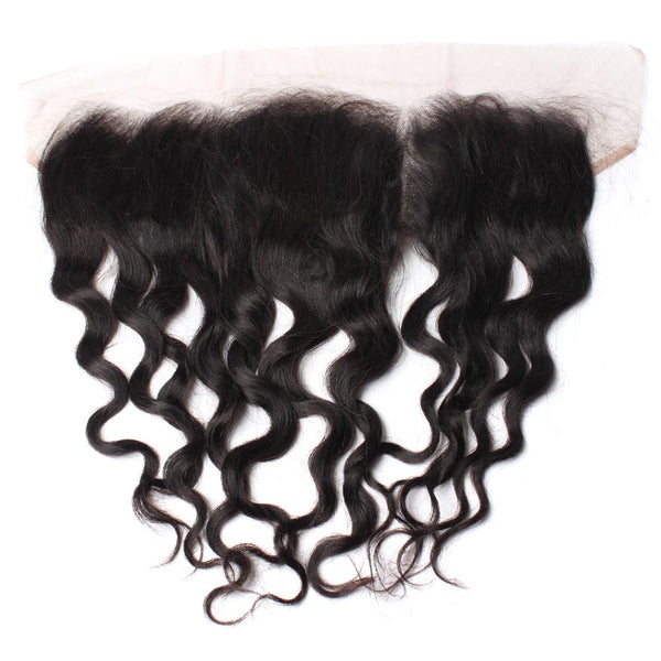 Brazilian Luxury Mink Natural Wave Lace Frontal - IamKiyomi