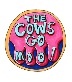 The Cows Go Moo! Children's picture book and song. www.thecowsgomoo.com, Moo Merch