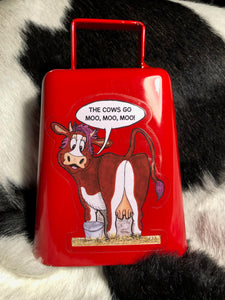 More Cowbell! - The Cows Go Moo!