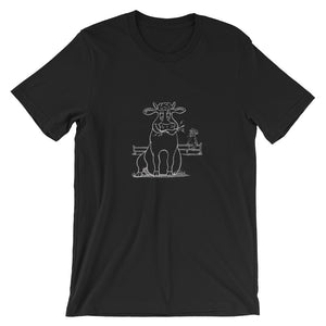 Chewin' Cud T - Ink Series - The Cows Go Moo!