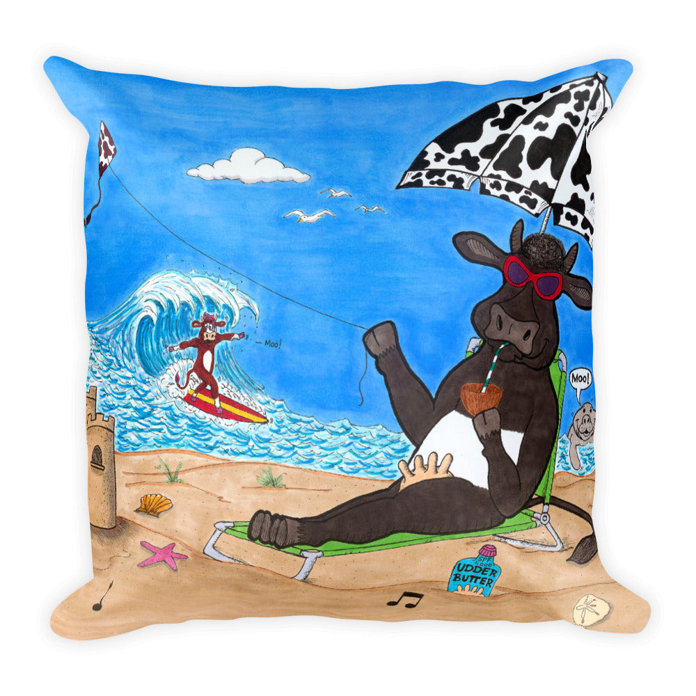 North & South Squishy Pillow! - The Cows Go Moo!