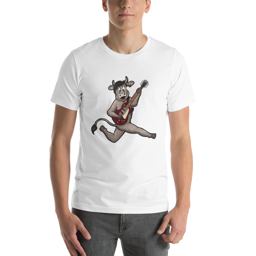 Flying Sedgewick T-Shirt! - The Cows Go Moo!