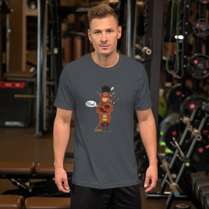 Graze the Scottish Highland Unisex T-Shirt - The Cows Go Moo!