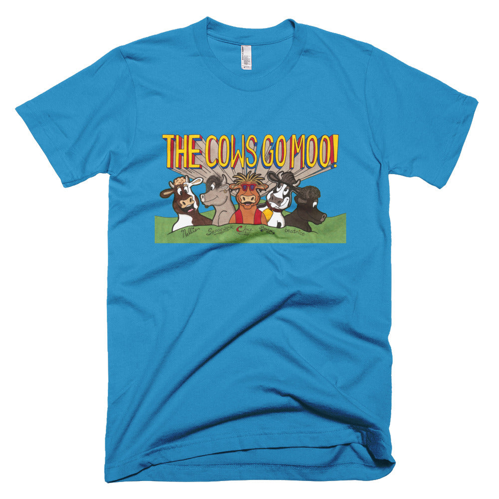 The Band T-Shirt! - The Cows Go Moo!