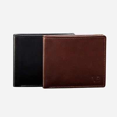 Leather Wallets & Card Holders