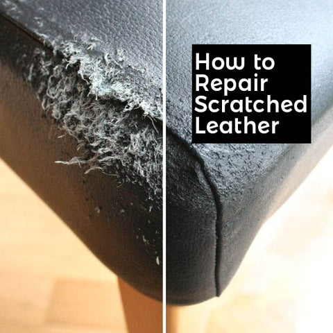 How To Repair Cat & Other Scratches On Leather Material