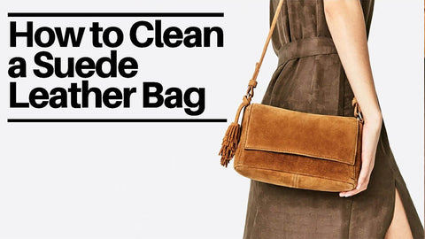 How to Clean a Suede Leather Bag