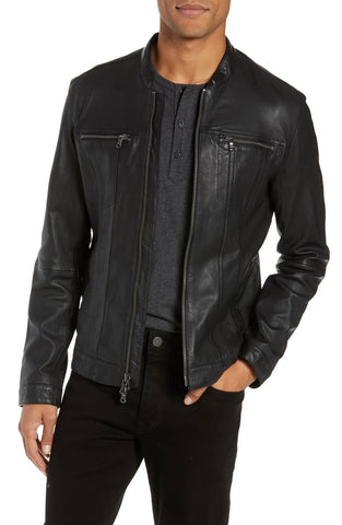 Leather Racer Jackets