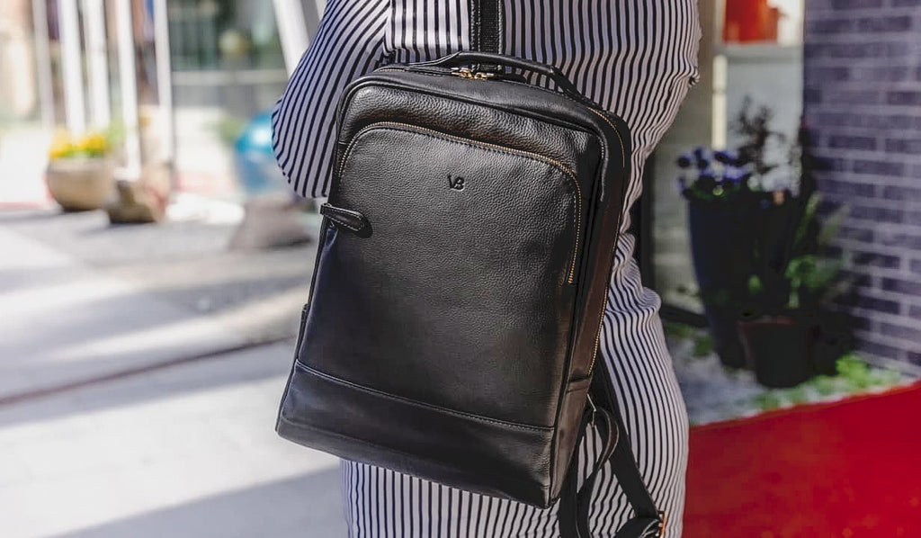 Prime Women's Leather Backpack from Von Baer