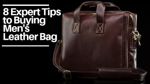 Tips to Buying the Best Men's Leather Bag