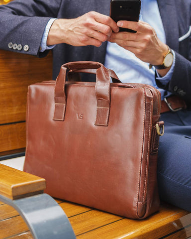 leather laptop bag for lawyers