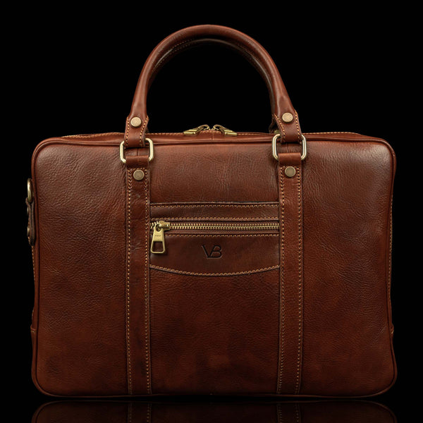 City Leather Laptop Bag from Von Baer
