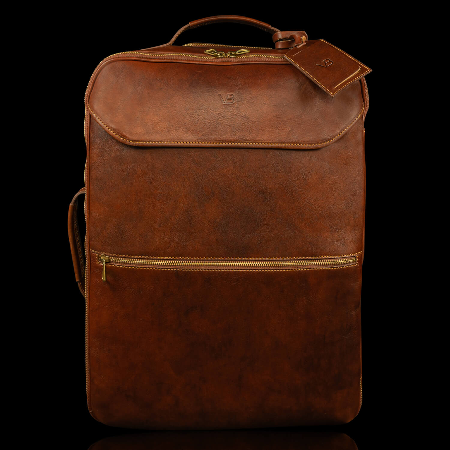 voyager leather carry on bag