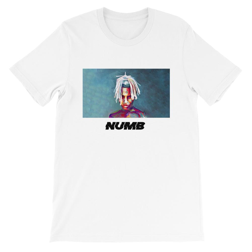 X 'NUMB' Paint T-Shirt