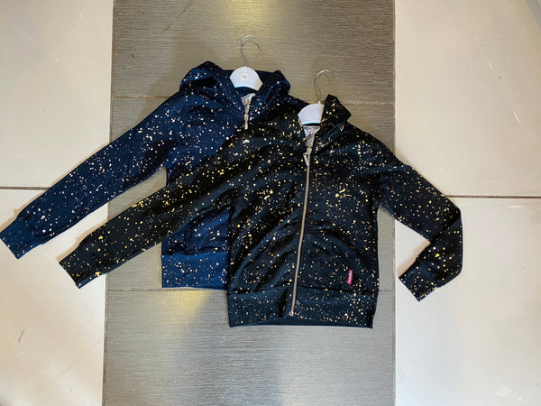 KID'S Hardtail Zip Hoddie with Paint Splash