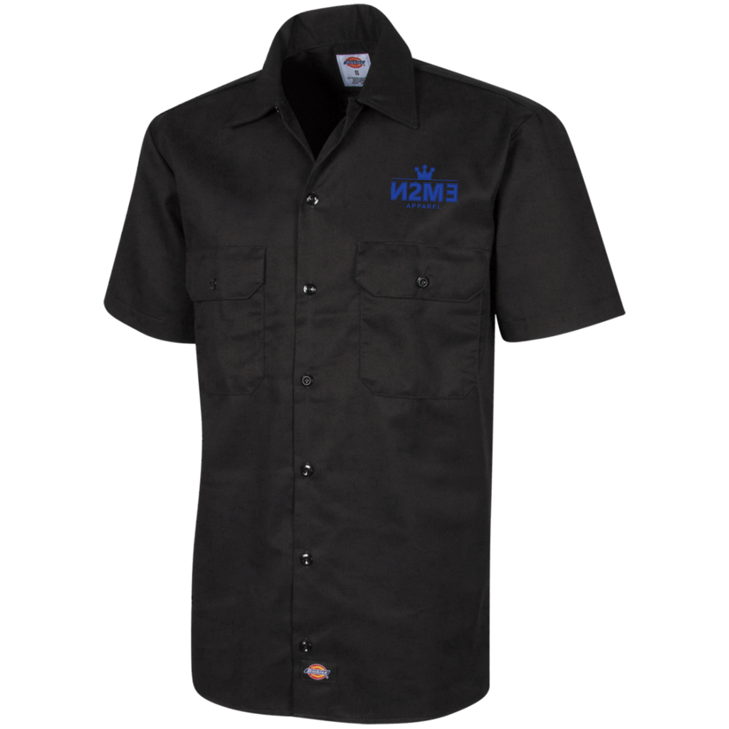 N2me Men's Short Sleeve Workshirt