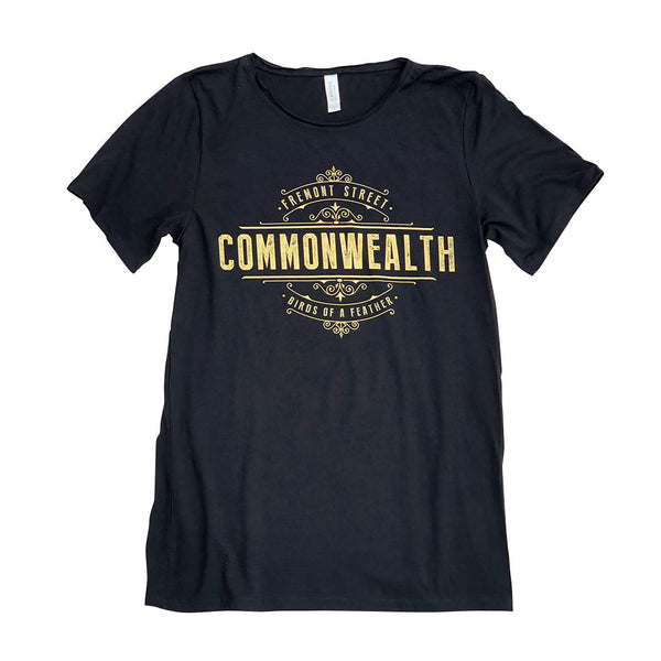 Commonwealth Birds Of A Feather Slouchy Shirt (Black)