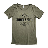Commonwealth Birds Of A Feather Slouchy Shirt (Olive)