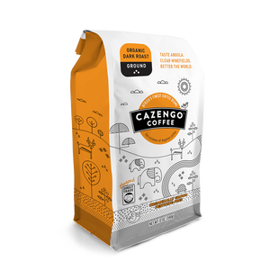 Cazengo Coffee - Dark Roast - Ground