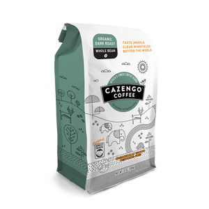 Cazengo Coffee - Dark Roast - Whole Bean