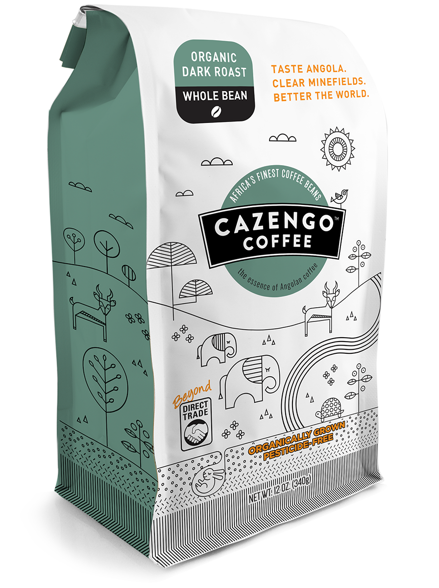 Cazengo Coffee - Dark Roast Whole Bean