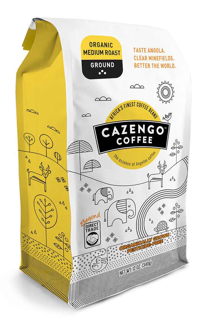 Cazengo Coffee - Medium Roast Ground