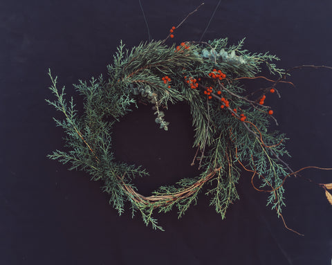 Holiday Wreath: Grapevine Base Designer's Choice