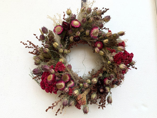 Dried Wreath: Dark & Moody
