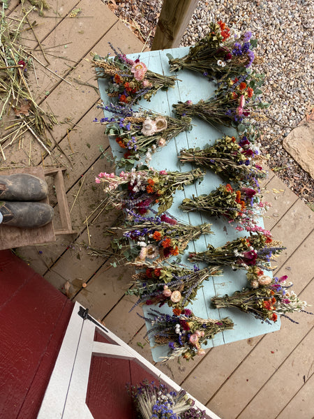 DIY Dried Flower Wreath Kit *video instruction included*