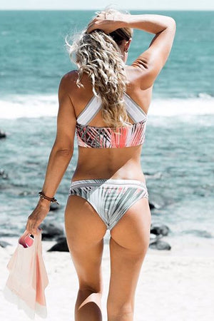 Eco-Friendly Tropical Voyager Bikini