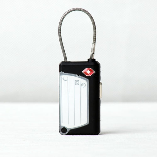 Custom Name Card TSA Luggage Lock