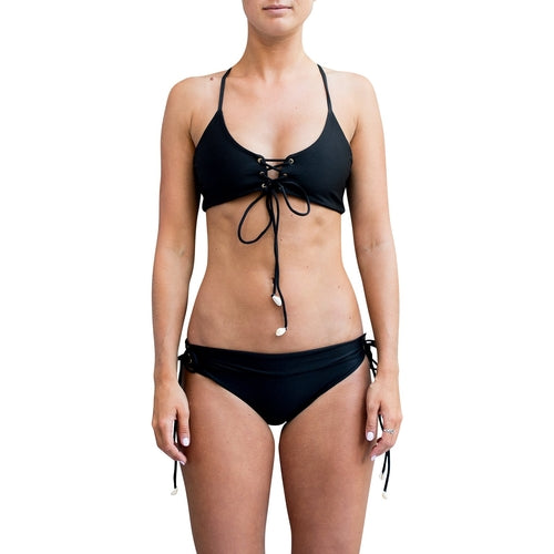 Eco-Friendly Black Bikini
