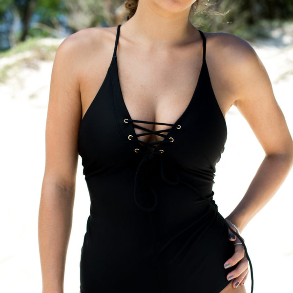 Sea Gypsy Onepiece Swimsuit - Classic Black