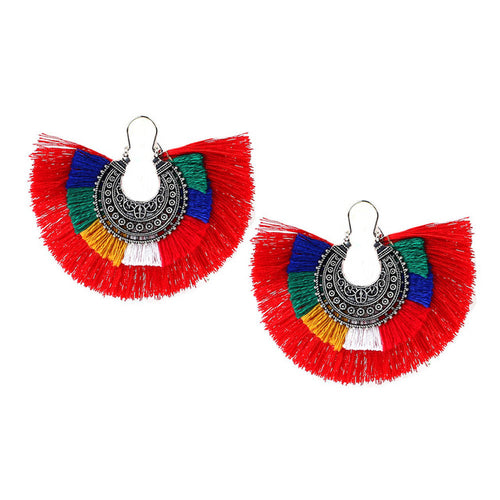 Bohemian Fringe Earrings