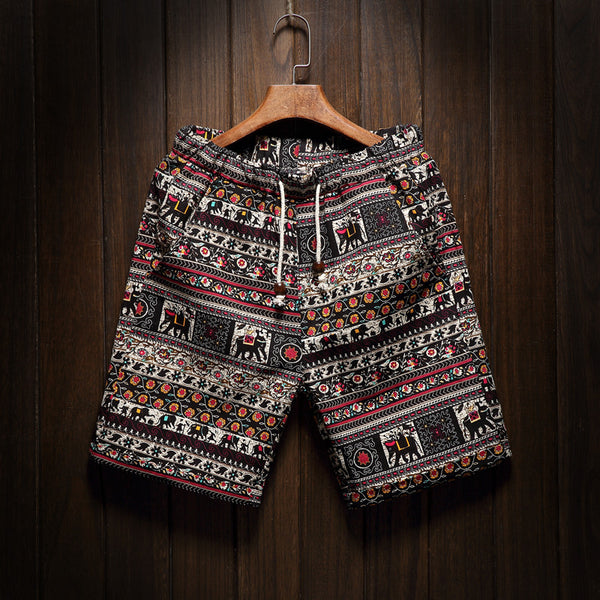 Thai Linen Summer Shorts