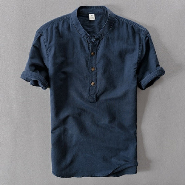 Lightweight Summer Linen Shirt