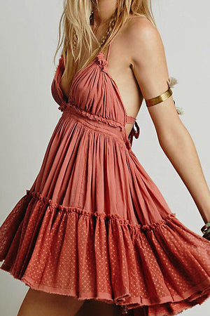 Boho Beach Summer Dress