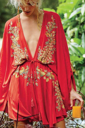 Boho Bali Beach Cover Up