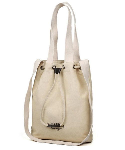 Spa Day Canvas Messenger Tote