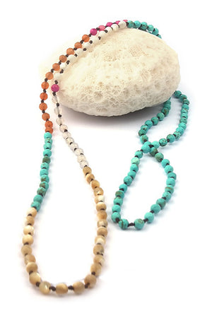 V.Ya Natural Stone Necklace