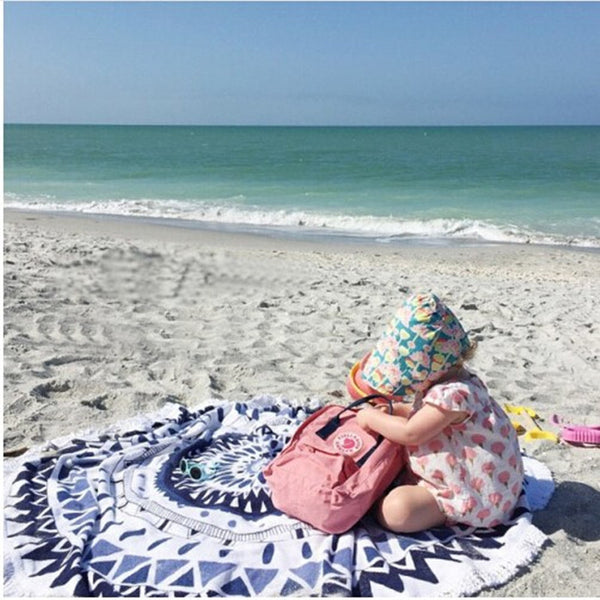 Endless Summer Round Beach Towel